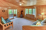 Basswood Cabin living room