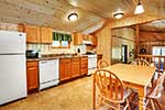 Basswood Cabin kitchen