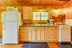 Jackpine Cabin kitchen