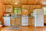 Point Cabin kitchen