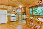 Spruce Cabin kitchen