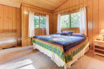 Basswood Cabin bedroom