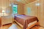 Point Cabin bedroom