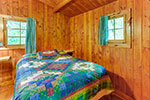 Jackpine Cabin bedroom