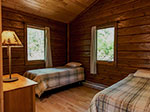 Bear Island Cabin bedroom