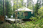 Remote Wilderness Yurt